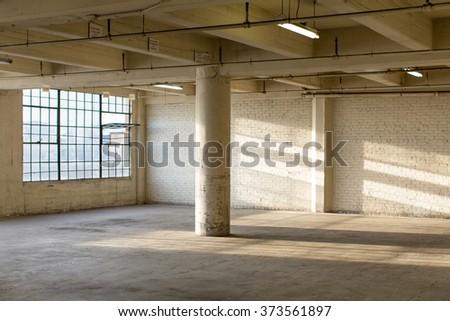 Modern Loft Apartment Warehouse Interior