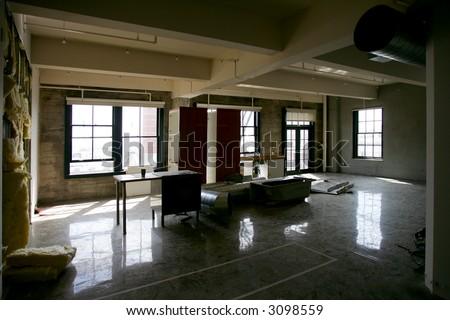 Modern Loft Condo under renovation, San Francisco