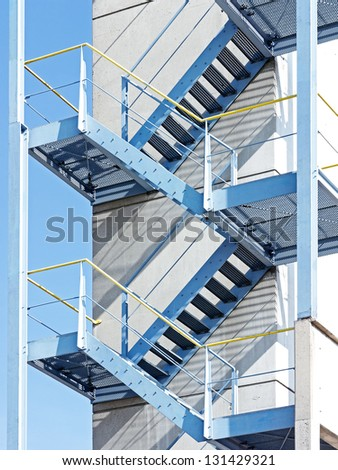 modern lookout tower - low angle view