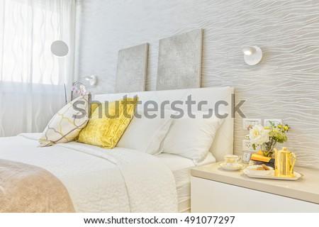 Modern Luxury Bedroom #491077297