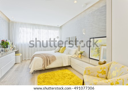Modern Luxury Bedroom #491077306