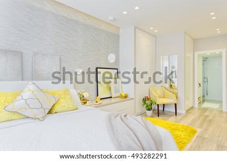 Modern Luxury Bedroom #493282291
