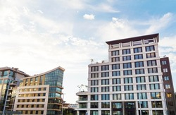 Modern Luxury Glass Business Office Corporate Building in Sofia City ,Bulgaria