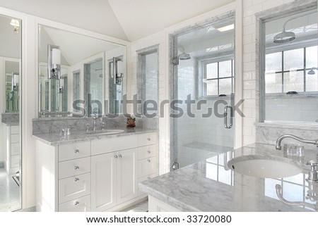 Modern Master Bath In Luxury Home Stock Photo 33720080 : Shutterstock
