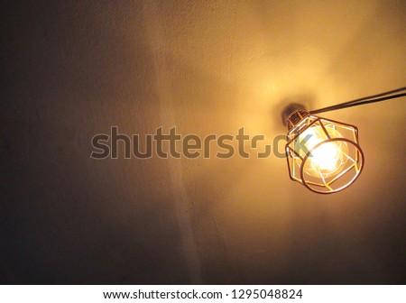 Modern Minimalistic Ceiling Lamp #1295048824