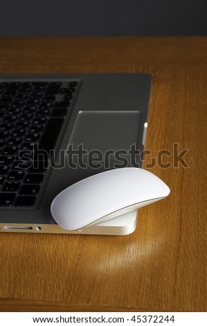 Modern Multi-Touch surface mouse for computer