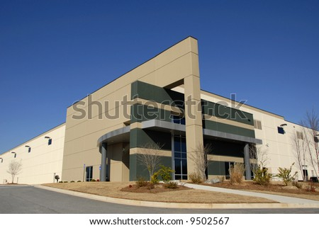 Modern New Commercial Distribution Center