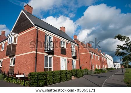 Modern new houses , England