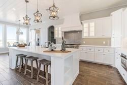 Modern New Kitchen Remodeled White