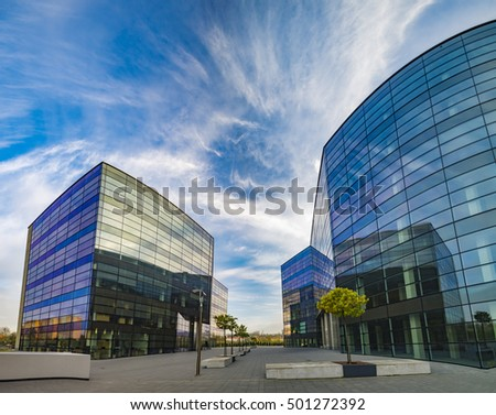 Modern office building #501272392