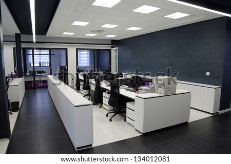 Shutterstock Modern office interior