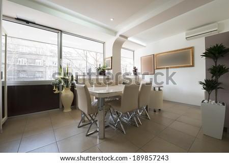Modern office interior #189857243