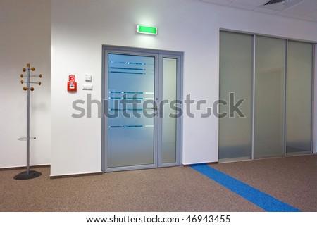 Modern office interior - corridor