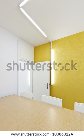 Design Room on Modern Office Interior Design  Meeting Room Stock Photo 103860224