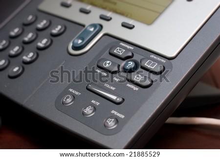 Modern Office Phone Using Voip Technology. Stock Photo ... | 450 x 325 jpeg 26kB