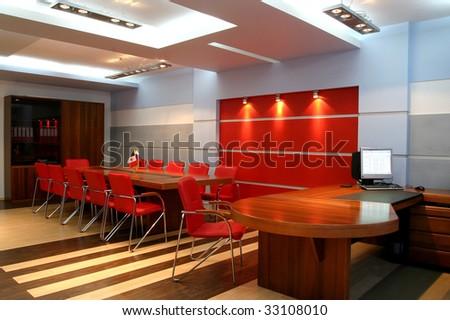 Modern office premise