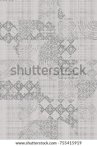 modern pattern for rug and carpet