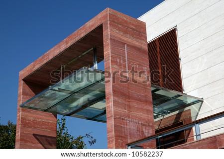 Modern Porch Stock Photo 10582237 : Shutterstock