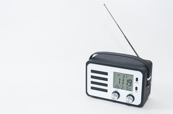 Modern radio receiver isolated