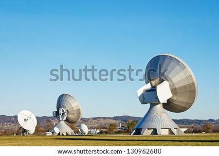 modern radio telescope - satellite dish
