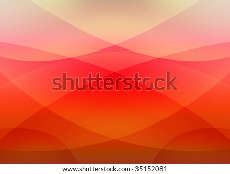 modern red background - stock photo