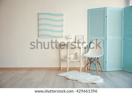 Shutterstock Modern room design interior
