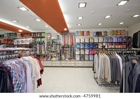 Modern Shop Interior Design Stock Photo 4759981 : Shutt