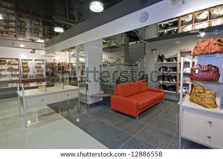 modern shop interior image