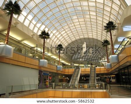 Modern Shopping Center in US
