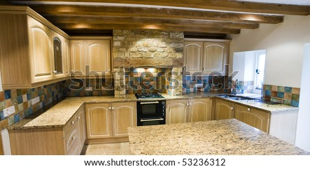 Modern Show Room Kitchen