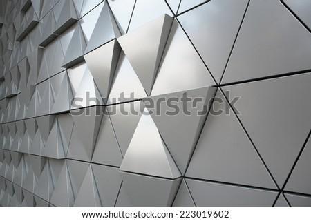 Modern silver background