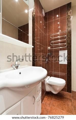 Modern simple bathroom