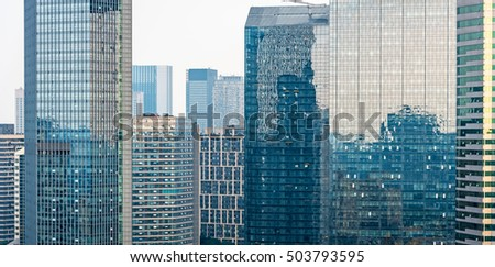Modern skyscraper building in Shanghai,China.