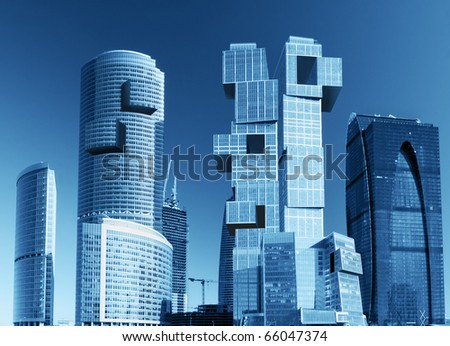modern skyscrapers #66047374