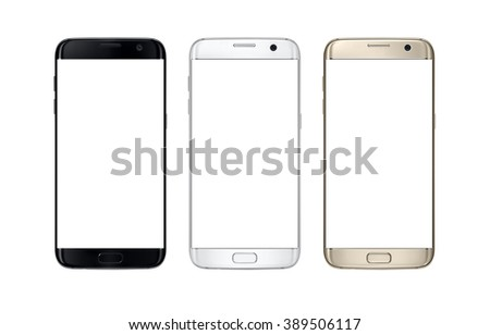 modern smart phone in three...