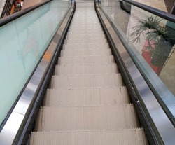 modern stairwell,moving staircase,subway stairwall,moving escalator,electronic stairs