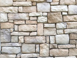 Modern stone brick wall background. Stone texture.