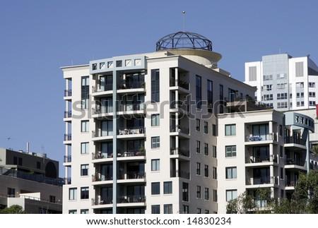Modern Urban Apartment Building
