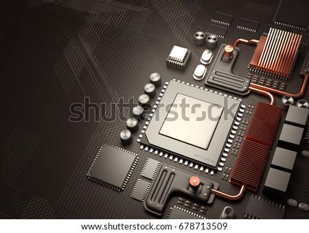 modern technology background.a...