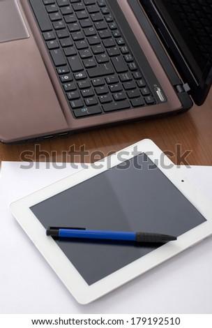 Modern technology on the Worktable #179192510
