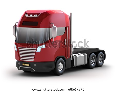 Modern truck. My Own Design