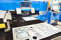 Modern turret punch press sheet metal