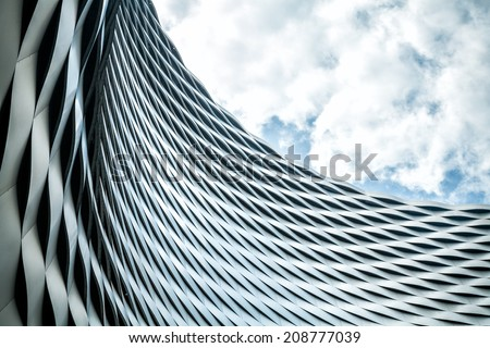 Modern urban architecture. Abstract background