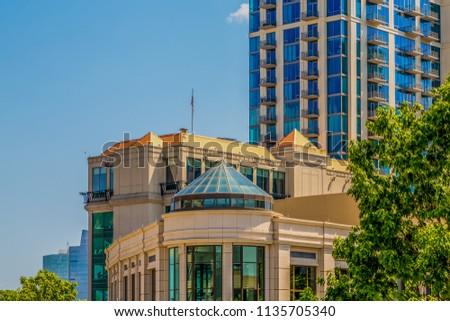 Modern Urban Buildings #1135705340