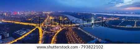 Modern urban cityscape #793822102