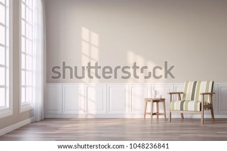 modern vintage living room with ...