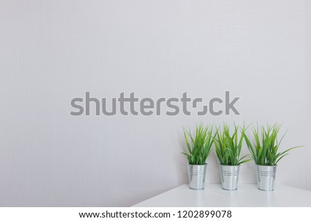 modern wall background and space #1202899078