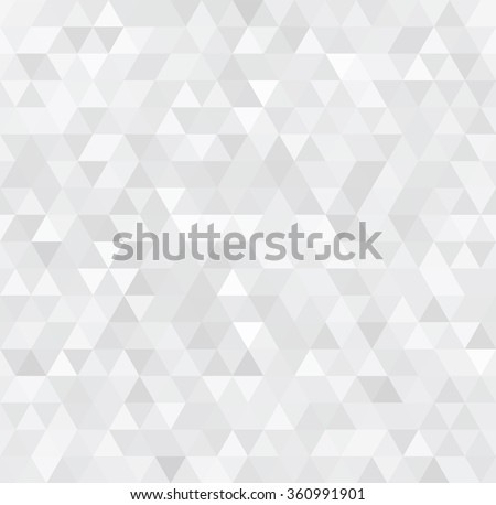 modern white abstract background with triangles  illustration #360991901