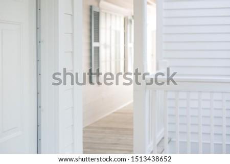 Modern white timber hampton timber style home
