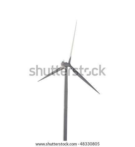 modern wind generator isolated